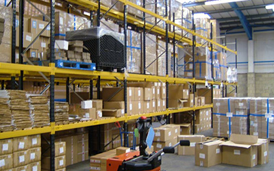 image of inside warehouse